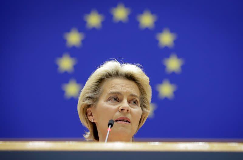 EU to build biomedical agency, convene health summit, says Von der Leyen