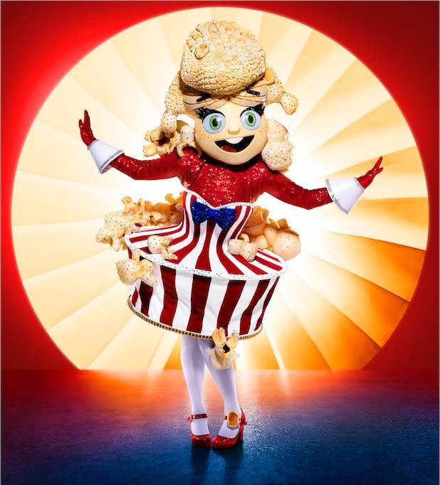 The Masked Singer Season 4 popcorn