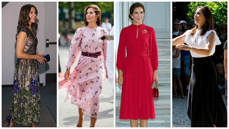 <p>Looking back at Crown Princess Mary of Denmark's fashion choices this year we can't help but notice that she has seriously upped her game and is looking more and more glamorous by the day. Check out her best looks over this past year. Source: Getty </p>