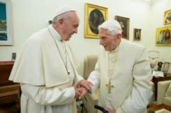 Mantan Paus Benekditus tolak pria menikah sebagai pastor