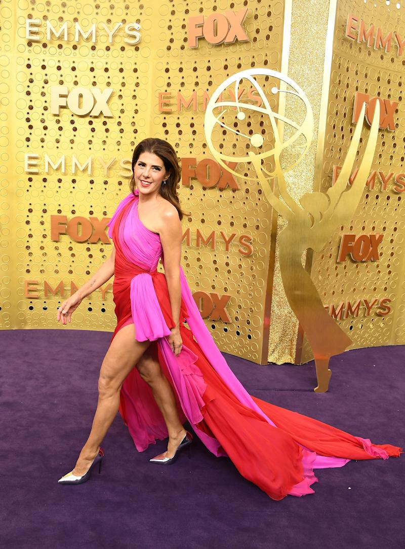 Marisa Tomei at the 1029 Emmy Awards in LA