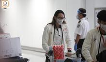 何詩蓓載譽回歸 凌晨離開機場到酒店隔離檢疫