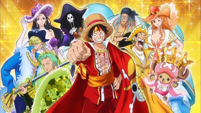 Anime One Piece. (Toei)