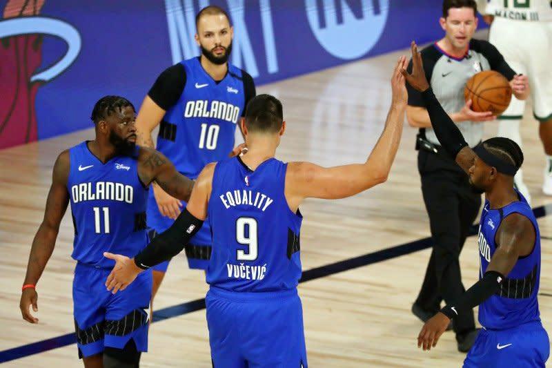 Vucevic pimpin Magic buka playoff melawan Bucks dengan kemenangan
