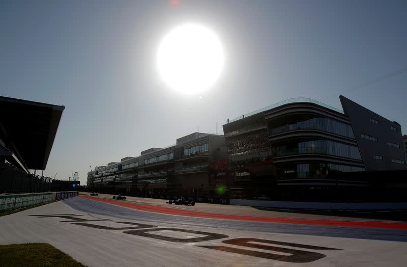 F1 COVID positives in double figures but teams are clear