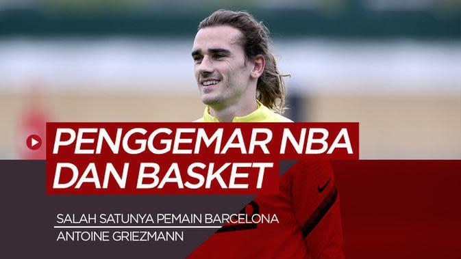 MOTION GRAFIS: Antoine Griezmann dan 4 Pesepak Bola Dunia yang Menjadi Fans NBA