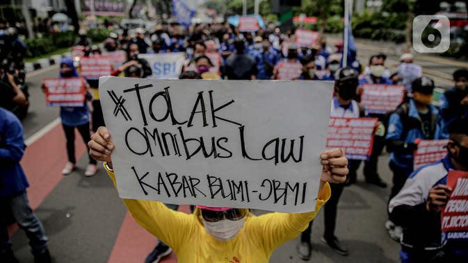 Usai Bertemu Jokowi, Forum Rektor Indonesia Mengaku Siap Kaji RUU Cipta Kerja