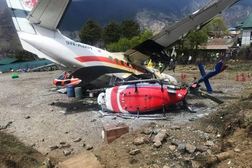 Death toll rises to 3 in aircraft collision in Nepal's Lukla airport
