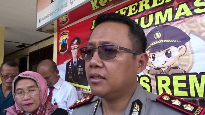 Kapolres AKBP Rembang AKBP Dolly Primanto. (Liputan6.com/ Ahmad Adirin)