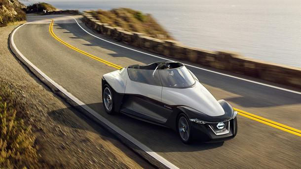 Nissan BladeGlider concept puts an electric wing on the road