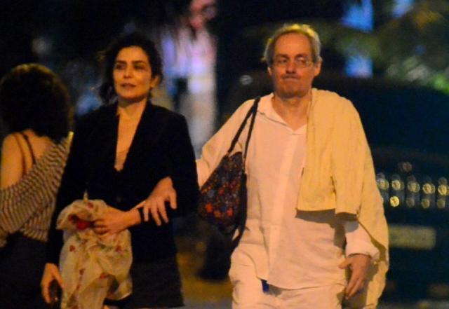 Letícia Sabatella e Daniel Dantas. Foto: AgNews