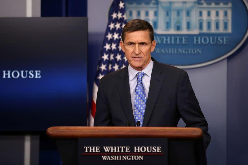 Defense attorney tells U.S. court she asked Trump not to pardon Michael Flynn