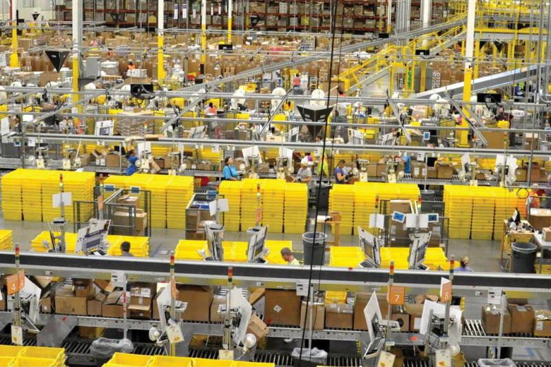 taylorism workforce amazon warehouse