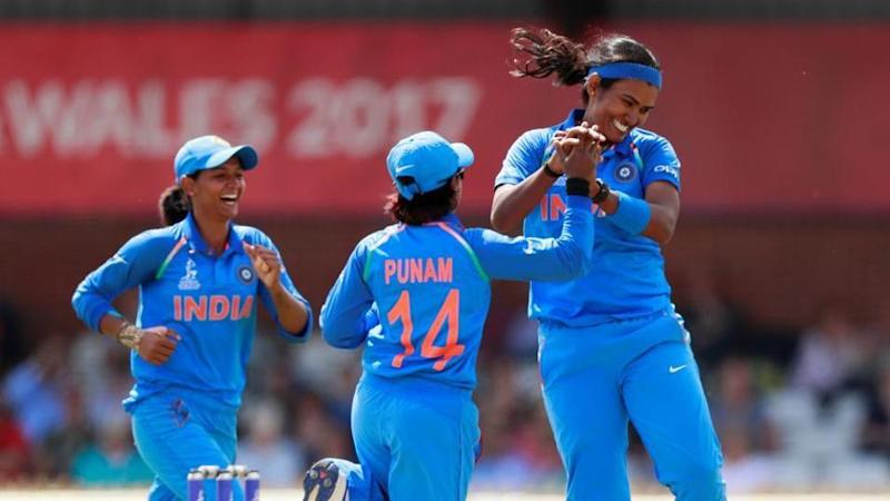 Indian Women's cricket team won the first, third, and fifth matches in the T20 series against South Africa women's team. (Photo by Reuters)