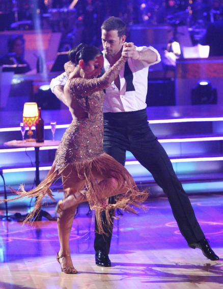 Cheryl Burke and William Levy (4/16/12)