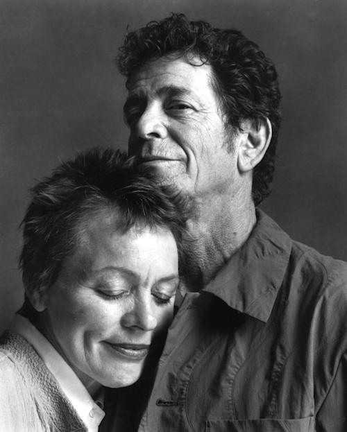 Laurie Anderson Says Final Farewell to Lou Reed