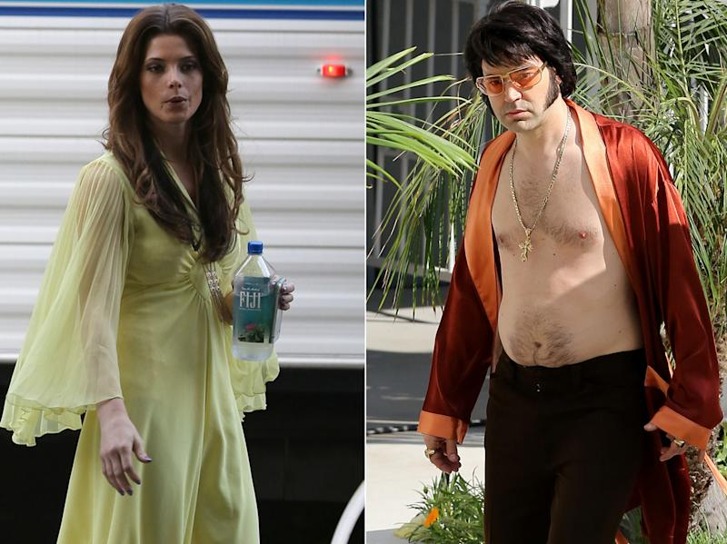 Sneak a Peek at Ron Livingston and Ashley Greene as Elvis and Priscilla Presley