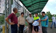 集集網球場獲300萬補助將全面翻修 預定今年8月完工