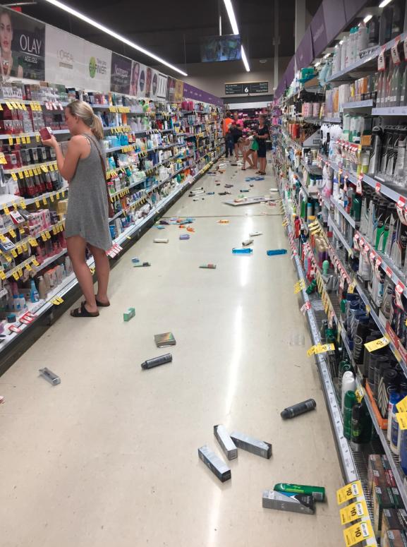 Earthquake hits off coast of Western Australia