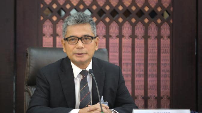 Direktur Utama Bank BRI Sunarso menjelaskan kredit BRI mampu tumbuh di atas rata rata industri hingga akhir kuartal I 2020.