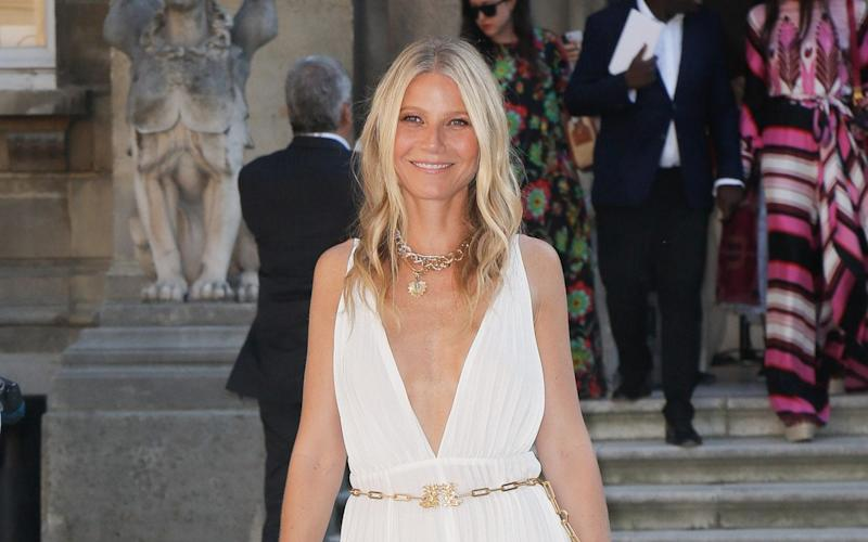 Gwyneth Paltrow's daughter Apple was suitably mortified after her mother stripped off on Instagram for her 48th birthday - J M Haedrich/SIPA/Shutterstock