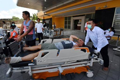 Foreign tourists were among those injured on Lombok and the nearby Gili islands