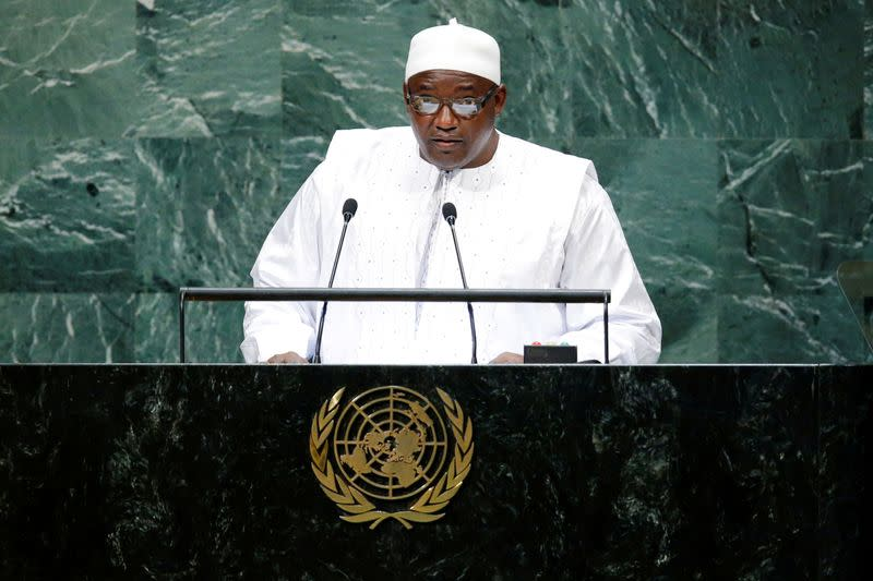 Gambia opposition laments failure of bid to curb term limits
