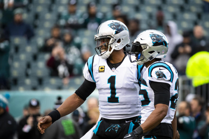 Cam Newton was initially worried about Eric Reid being a distraction for the Panthers last season. (Getty)