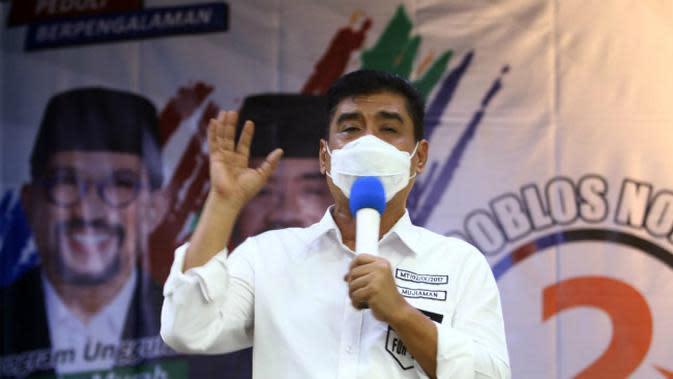 Calon Wakil Wali Kota Surabaya Mujiaman (Foto: Liputan6.com/Dian Kurniawan)