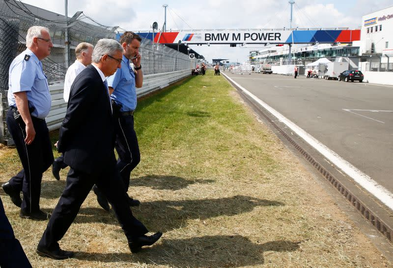 German F1 Grand Prix to allow up to 20,000 fans