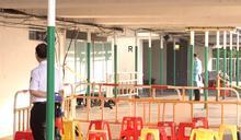 荃灣區議員指荃威花園R座的檢測及撤離安排混亂