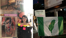 泰國年輕人於中國國慶發起反中遊行 大揮台灣旗挺台灣