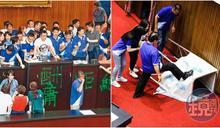 國民黨兩度破壞議場仍欠41萬修復費 游錫堃:繼續溝通