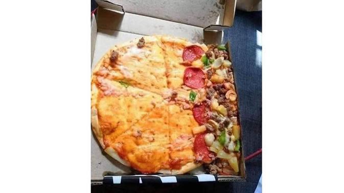 6 Momen Apes saat Mau Makan Pizza Ini Bikin Nyesek (sumber: Instagram.com/receh.id)