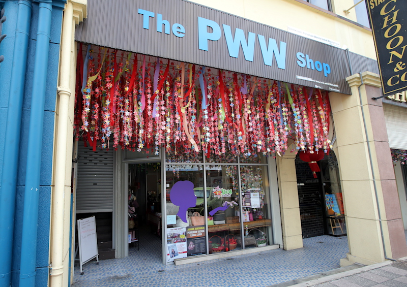 The PWW shop at Market Street, Ipoh will be having the Food Pantry programme to assist the B40 affected by Covid-19. — Picture by Farhan Najib
