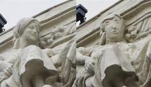 西班牙女雕像遭「毀容」網一看驚呆了