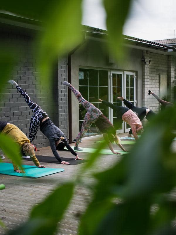 Ilustrasi yoga | unsplash/ @rimakruciene)