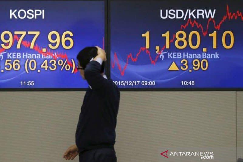 Bursa saham Seoul berakhir 0,93 persen lebih rendah