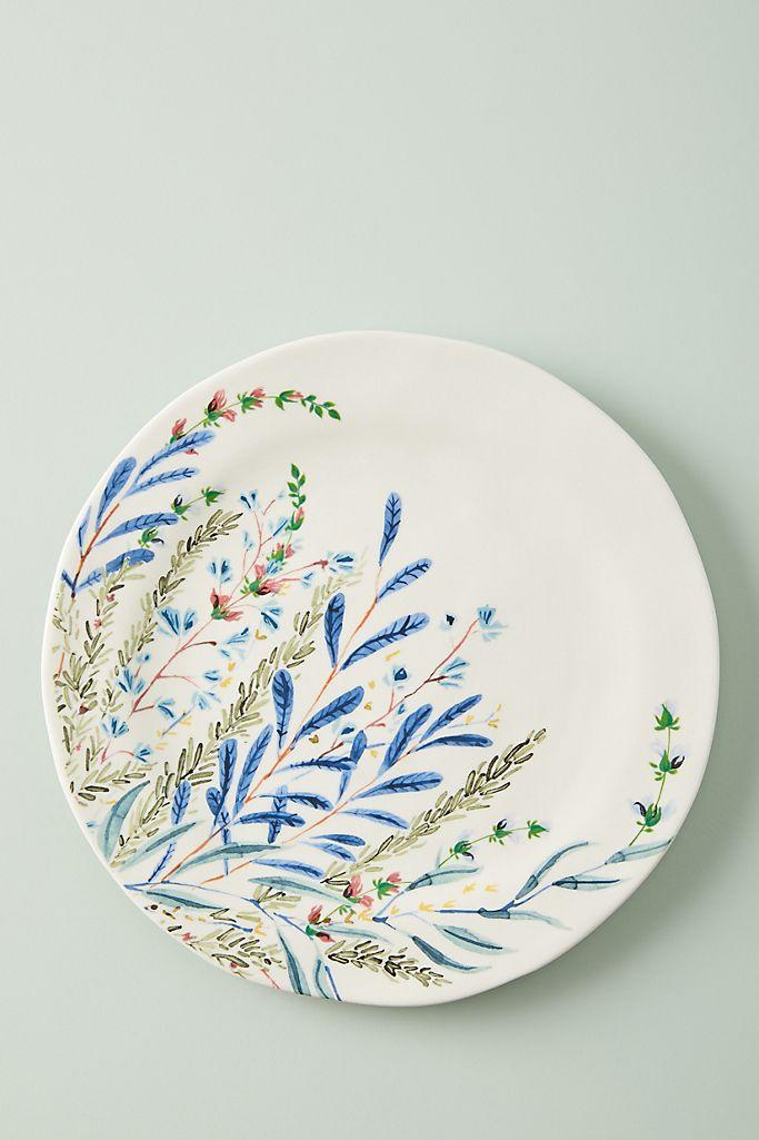 Printemps Side Plates, Set of 4. Image via Anthropologie.