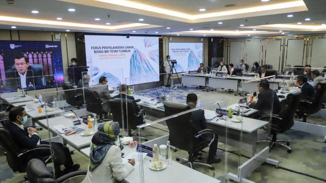 Konferensi Pers Virtual Pemaparan Kinerja Keuangan Triwulan II Tahun 2020 via Zoom, 19 Agustus 2020.