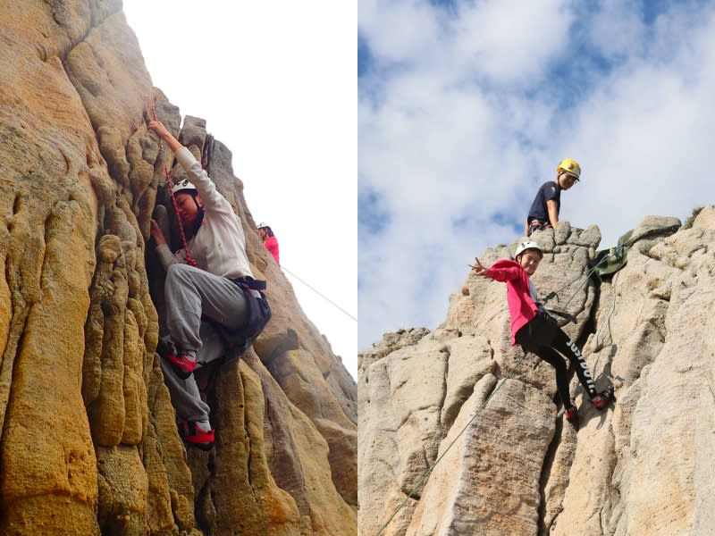 龍洞攀岩 體驗登頂的刺激感