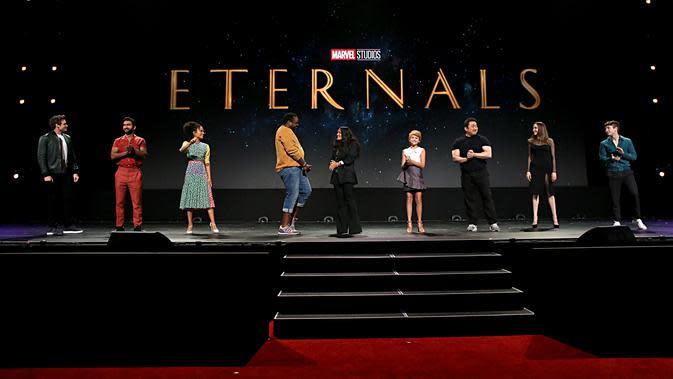 Pemain The Eternals (Twitter/ @MarvelStudios)