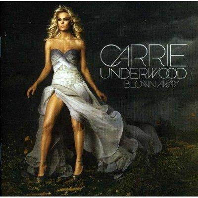 10. Carrie Underwood, Blown Away - Carrie's Leg refused to be upstaged by Angelina's Leg in 2012. The singular gam peeked out at a series of awards-show performances but made its most prominent uni-thigh appearance on the cover of Blown Away, which featured much of the rest of Underwood in a melodramatic, airbrushed setting that suggested an imminent rescue from the storm by Fabio.
