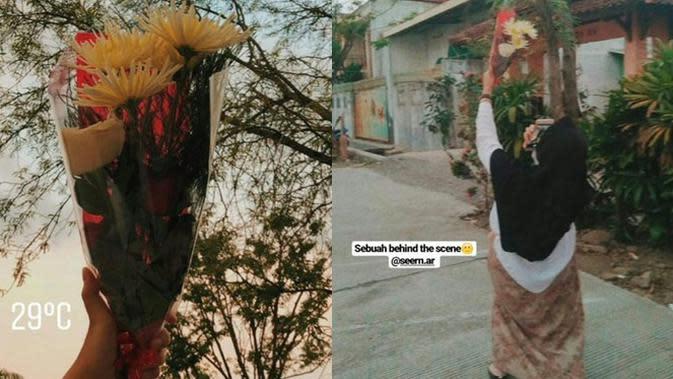 6 Pengorbanan di Balik Foto Keren Ini Bikin Tepuk Jidat (sumber: Twitter.com/ghinnnnnnnn)