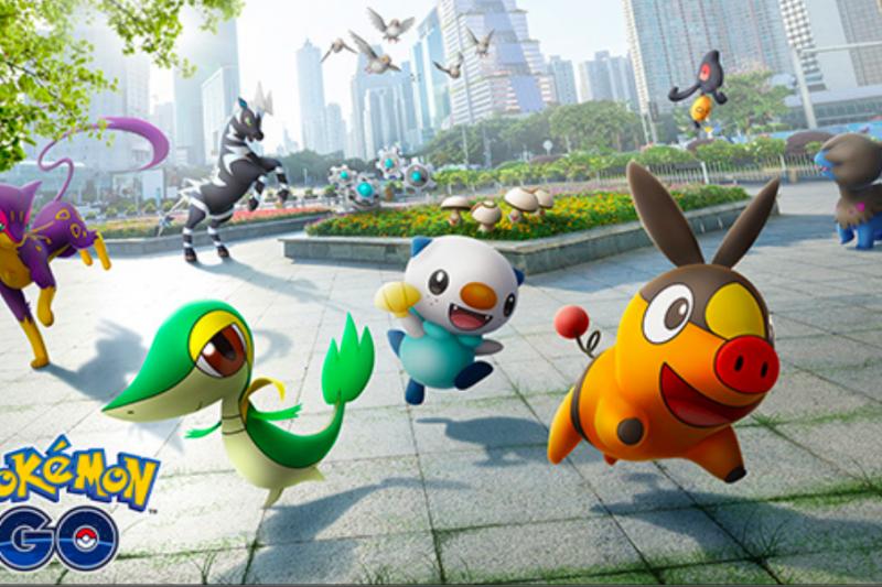 Pokemon Go luncurkan monster generasi 5