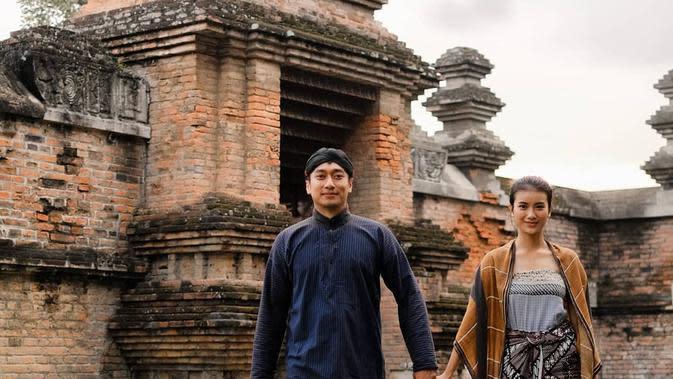 Momen Bintang FTV Ina Marika dan Rezca Syam Setelah Menikah. (Sumber: Instagram.com/ina.marika)