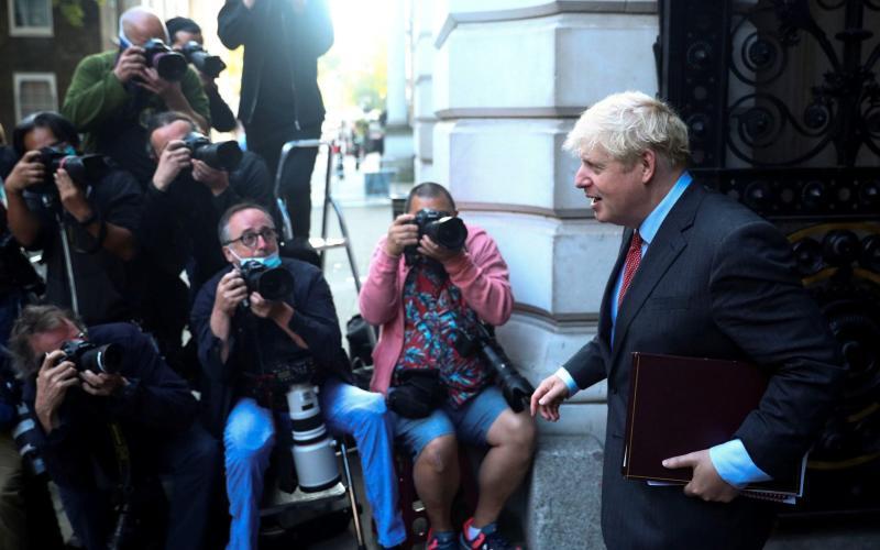 Boris Johnson - HANNAH MCKAY / Reuters