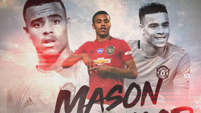 Manchester United - Mason Greenwood (Bola.com/Adreanus Titus)