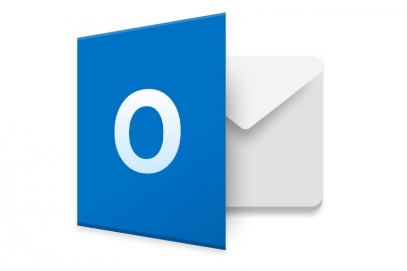 "Layanan Microsoft Outlook ""down"""