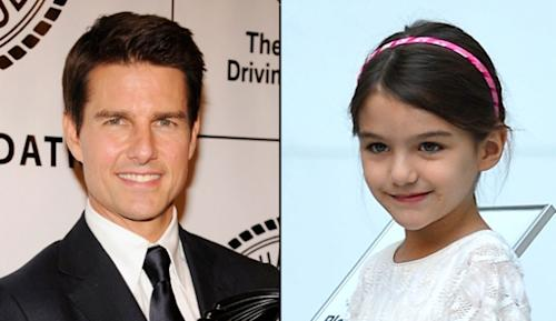 Tom Cruise, Suri Cruise -- Getty Images